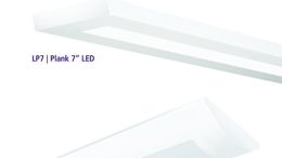 Hubbell Lighting's Alera Lighting has launched two linear lighting solutions— the Plank 7-inch LED (LP7) and the Curv Radial Lens LED.