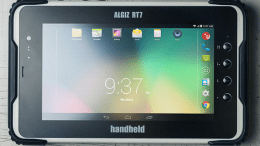 Handheld Group, a manufacturer of rugged mobile computers, introduces its Android tablet, the ALGIZ RT7.