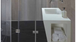 The designers at MTI Baths have developed ultra-compact Wall-Mounted Vanity Sinks.