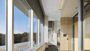 Armstrong Ceiling Systems has collaborated with Lutron Electronics, makers of lighting controls and automated shading solutions, to introduce a new integrated pocket and shading system for building perimeters.