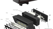 ABBLighting, a manufacturer of customizable LED luminaires, has launched its V-line series of LED flood lights.