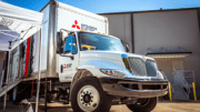 Mitsubishi Electric US Cooling & Heating showcases the future of commercial building HVAC systems—Variable Refrigerant Flow technology—with its demo truck.