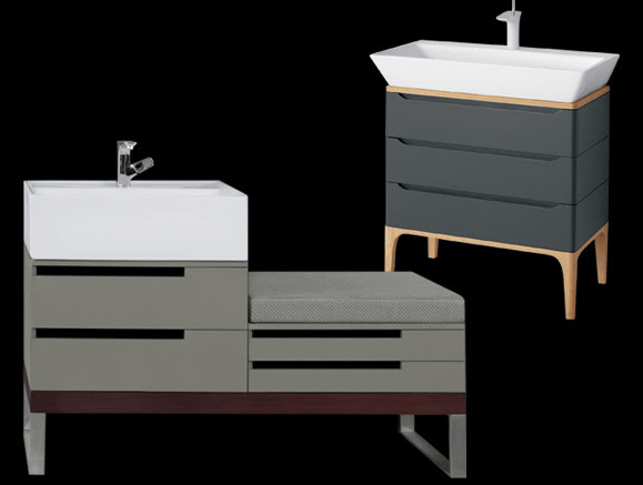 Northern California-based luxury bathroom furnishings manufacturer Ronbow introduces two bathroom suite collections of vanities, mirrors and side cabinets by Phoenix Design: STACK and WIDE.