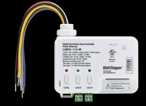 LMRC-110 series allows integration of Wattstopper occupancy sensors, daylighting sensors, and switches for an energy efficient lighting control solution.