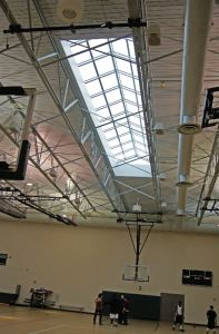 Pinnacle 350 skylights offer durability, large-span capability, and fast onsite assembly and installation.