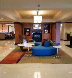 The Fairfield Inn & Suiteshotel renovation features the refurbishment of 83 guest suites, along with the hotel's corridors and public areas.
