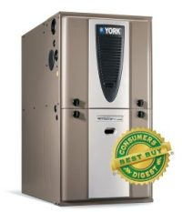 Gas Furnace Offers Compact Design, Fuel-conserving ...