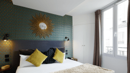 Best Western Paris features Lutron control solutions.