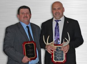 ATAS International Inc. presents Brian Silvius and Chris Kroeter with the Malan S. Parker Award to recognize the top sales team of 2016.