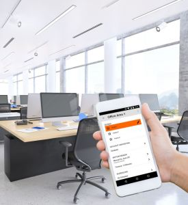SIMPLUX is a standalone wireless lighting control system designed for small- to mid-sized spaces.