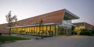 NBK Architectural Terracotta transforms the Lawrence Public Library.