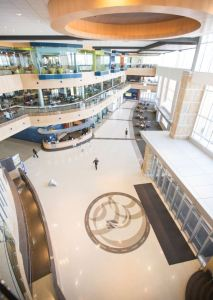 The Lutron Vive wireless lighting control solution helps Madison College save energy, improve lighting performance, and enhance the learning environment.