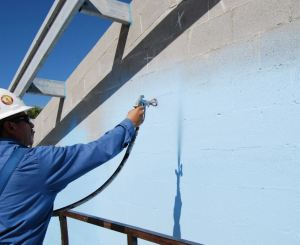 Wall Guardian FW-100A is a liquid-applied fibered acrylic air barrier that also acts as a water-weather barrier and vapor retarder.