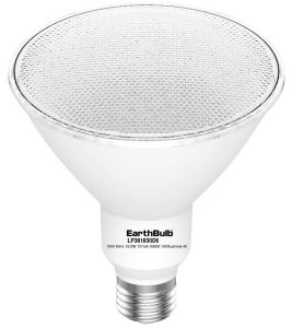 EarthBulb LED floodlights offer a color rendering index of greater than 91 and an R9 value of greater than 50.
