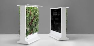 Verdanta plant-filled portable walls and partitions bring wellness to the workplace.