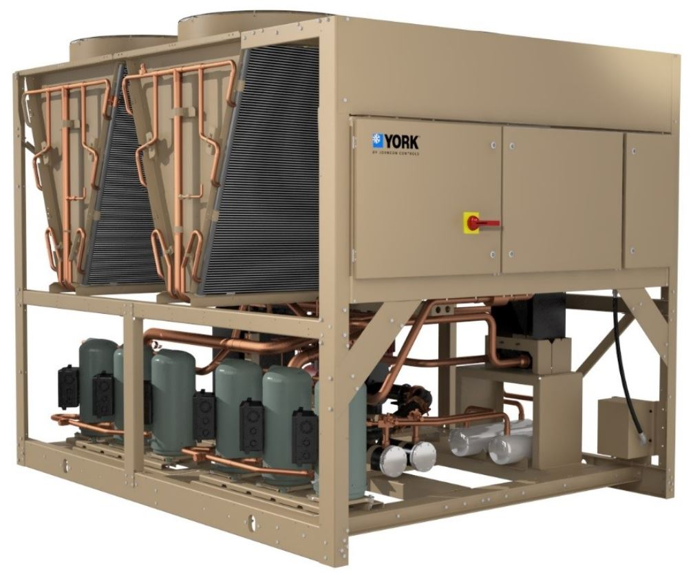 capacity of air cooled chillers is extended to 230 tons retrofit. Black Bedroom Furniture Sets. Home Design Ideas