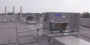 Fontana Unified School District saves thousands in energy costs with the installation of 201 high-efficiency WeatherExpert 48-50LC roof top units.