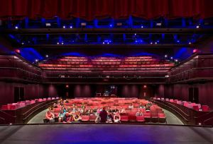 The renovation meets the current needs of the theater department and the university.
