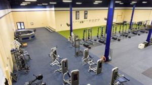 CCA renovates its fitness center with flooring from Ecore Athletic.