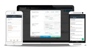 The Time Cards product tracks hours and cost codes on the jobsite.