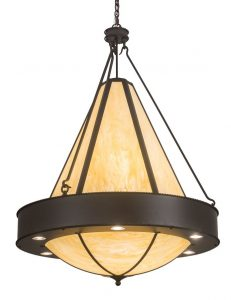 The chain length of the Obsidian Pendants can be adjusted in the field to accommodate specific lighting application needs.