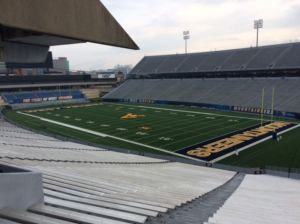 Dedicated to enhancing fan experiences, Milan Puskar Stadium was redesigned to add amenities and style.