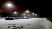 snow ice parking structure