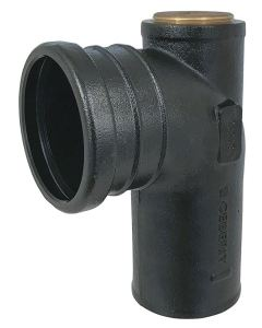 The Cast Iron Waste Fitting is an option for the entire line of Geberit in-wall systems.
