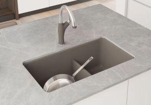 BLANCO adds the PRECIS 30-inch Single Bowl and the PRECIS 1-3/4 Bowl with Low Divide to the SILGRANIT sink collection.