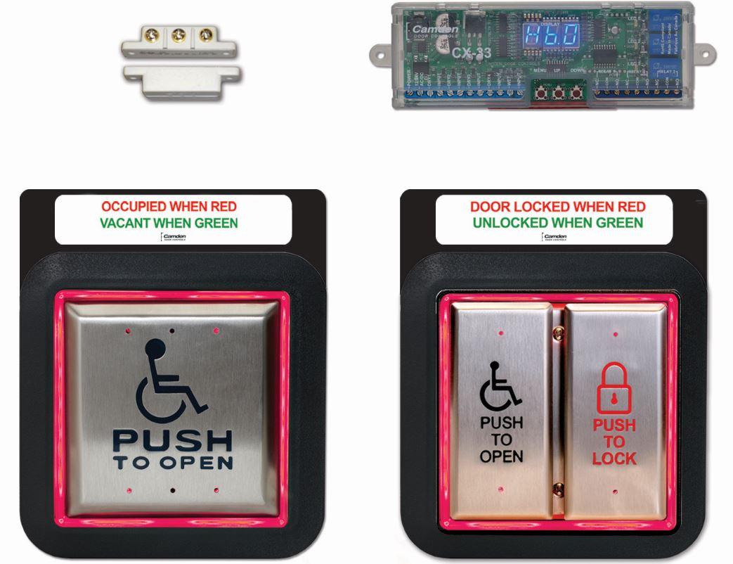 Restroom Control Kit is OBC Code Compliant - retrofit