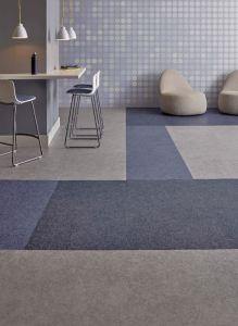 This LVT tile features a top coat that offers scratch resistance, ease of maintenance and polish optional maintenance.