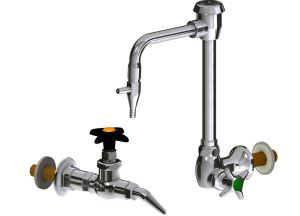 Developed by Chicago Faucets, the laboratory fittings allow customers to configure their products to match the application.