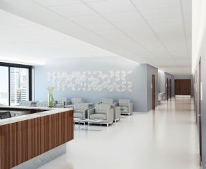 Axiom Indirect Light Ledge offers a variety of mounting options for both ceiling-to-wall and ceiling-to-ceiling applications.