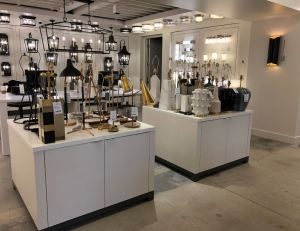 The Circa Lighting showroom in West Hollywood is updated with new displays to show off its product lines.