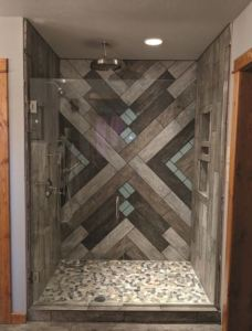 The HardCurb shower curb is engineered to prevent damaging water leaks and swelling that cause tile failure.