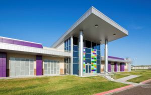 The STC Technology Campus expansion features offices and classrooms as well as computer, training and robotics labs.