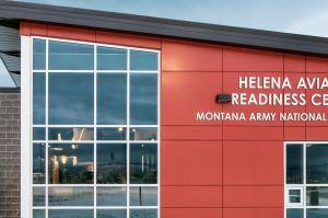 The Helena Aviation Readiness Center achieves LEED Gold Certification status.