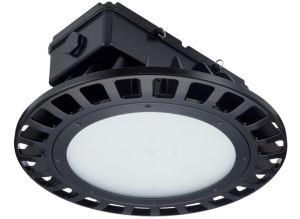 LED Hazardous Location High Bay supports hazardous, high-ceiling industrial applications.