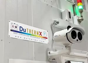 DuThermX is a fully integrated body temperature measurement system for industrial and commercial applications.