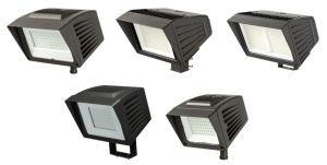 TFL commercial flood lights are available in five sizes with outputs ranging from 1,000 to 50,000 lumens.