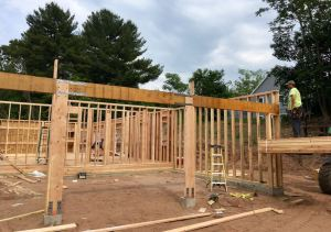 Simpson Strong-Tie receives a code listing from the International Code Council Evaluation Services for its Strong-Wall site-built portal frame system.
