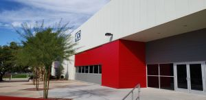 Just more than 7,200 square feet of insulated metal panels were installed on the addition at Tech Parks Arizona.