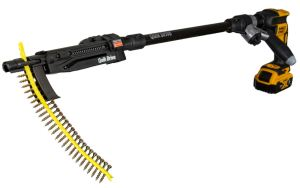 Simpson Strong-Tie receives a Pro Tool Innovation Award (PTIA) in the Drills/Drivers-Decking, Cordless category for its Quik Drive PRO200SG2 multipurpose system.