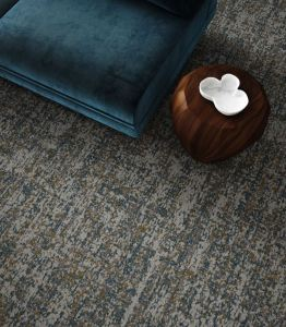 The Inspired Connection is a colorpoint carpet tile and broadloom collection designed to create cohesive spaces.