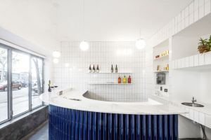 "The ""Atlantis Gastrobar"" by Arantxa Manrique Arquitectes is the Tile of Spain Awards winner for interior design."