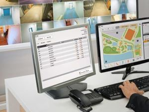 The IX Series PC Master Station Software is a PC-based intercom solution that can be managed remotely by facility managers or a security operations center.