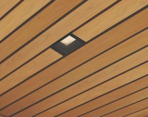 These integrated downlighting solutions are certified for fit and finish and seismically tested to work with WoodWorks Ceiling Systems.