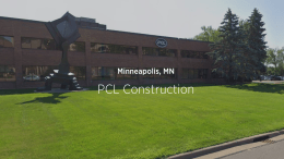 PCL Construction, Sloan, water conservation
