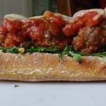 Molten Umami Meatball Sandwiches