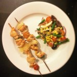 Easy Like Devilled Chicken Skewers